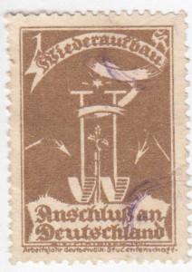 Anschluss an Deutschland Spendenmarke