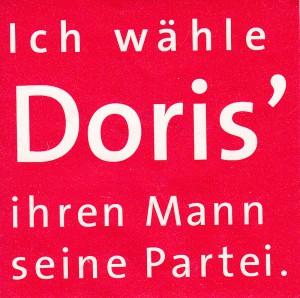 Aufkleber Doris