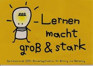 Aufkleber - Lernen - SPD 001