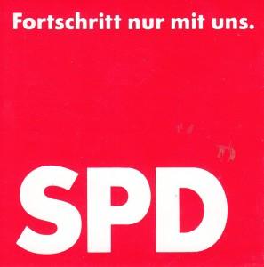 Aufkleber SPD Fortschitt 89