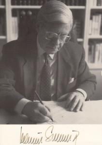 Autogrammkarte Schmidt Orig