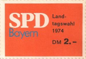 Bayern SPD LTW 1974 001
