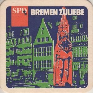 Bierdeckel Bremen VS