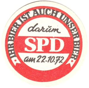 Bierdeckel - SPD  - 221072 - VS - 01