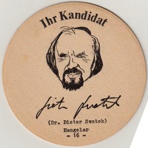Bierdeckel - SPD  Augustin