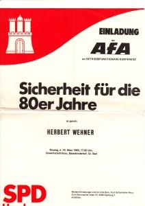 Einladung AFA Wehner