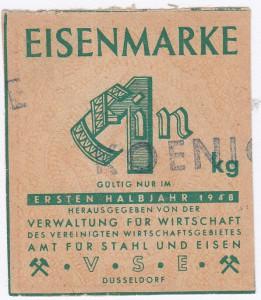 Eisen VSE 1 1948 - 1