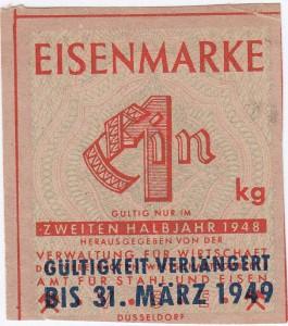 Eisen VSE 1 1948 - 2 verl