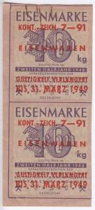 Eisen VSE 10 1948 2 verl kont