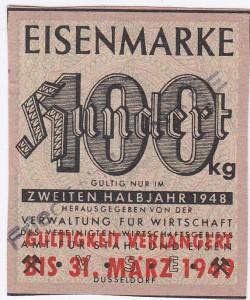 Eisen VSE 100 Stempel 1948-49 - 2
