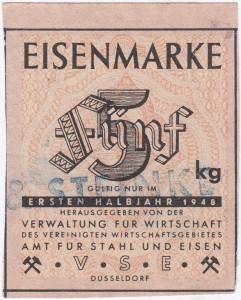 Eisen VSE 5 1948 - 1