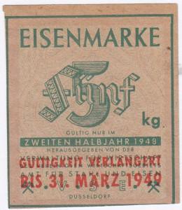 Eisen VSE 5 1948 - 2 verl