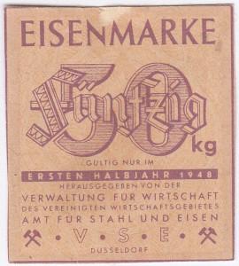 Eisen VSE 50 1948 - 1
