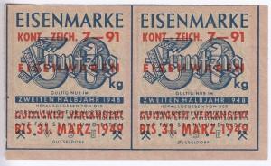 Eisen VSE 50 1948 2 verl kont