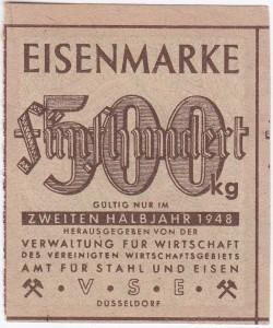 Eisen VSE 500 1948 - 2