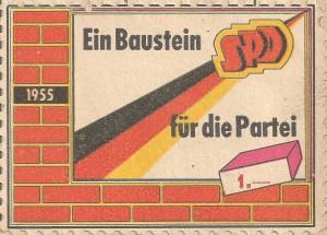 Fahne Mauer Baustein 001