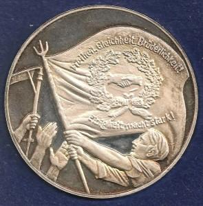 Medaille Fahne VS neu 001