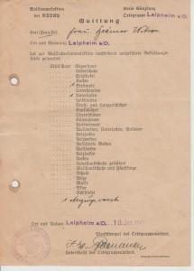 NSDAP Wollsammlung