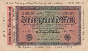Notgeld Werbung DK 4