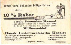 Notgeld Werbung DK 6a