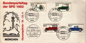 Parteitag München 72 PK Autos