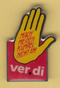 Pin Verdi Hand