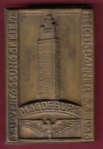 Reichsbanner Magdeburg Pin