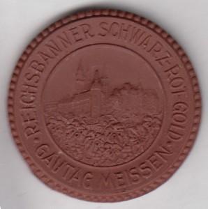 Reichsbanner Meissen Pin