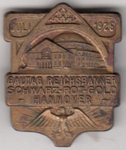 Reichsbanner Pin Hannover 01
