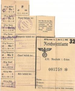 Reichsfettkarte 32 001