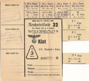 Reichsfettkarte 32 U3 001