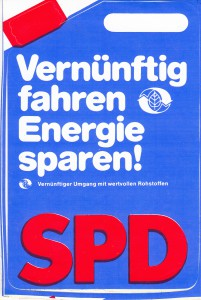 SPD Aufkleber Energie