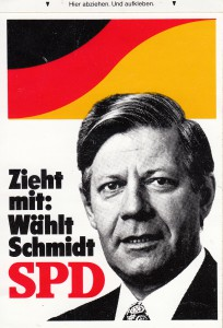 SPD Aufkleber schmidt zieh mit