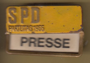 SPD Presse 66 Pin
