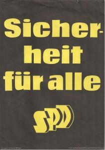 SPD - Sicherheit - Schwarz 001