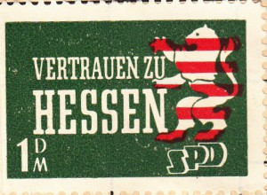 SPD Sondermarke Hessen 100