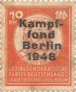 SPd Berlin RM 1000 001