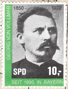 Sondermarke Bayern Vollmar 10,-
