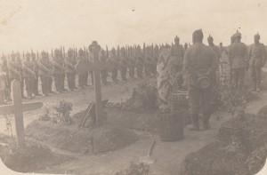 WK1 Soldaten Beerdigung