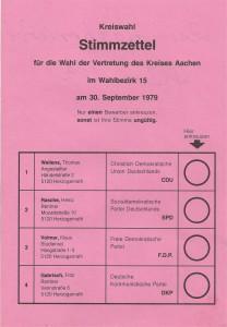 Wahlzettel KRTW 1979 WBZ 15 001