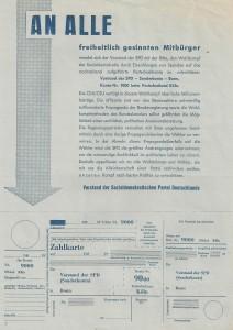 Zahlkarte VS 001
