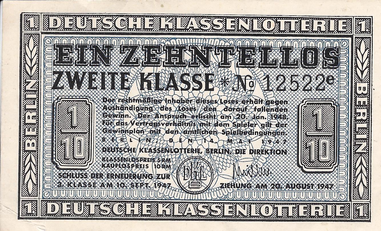 Deutsche KlaГџenlotterie